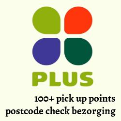 Logo van Plus om te bestellen
