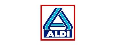 Supermarkt logo Aldi