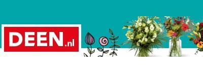 Bloemen bestellen bij Deen, bezorging in heel NL