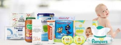 Boodschappen bestellen voor je baby
