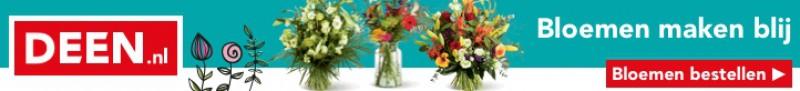 Deen bloemen bezorgen door heel Nederland