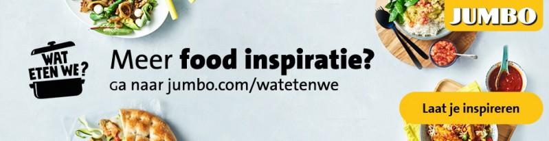Weekmenu's maken en inspiratie kan je vinden bij Jumbo, nu ook in België