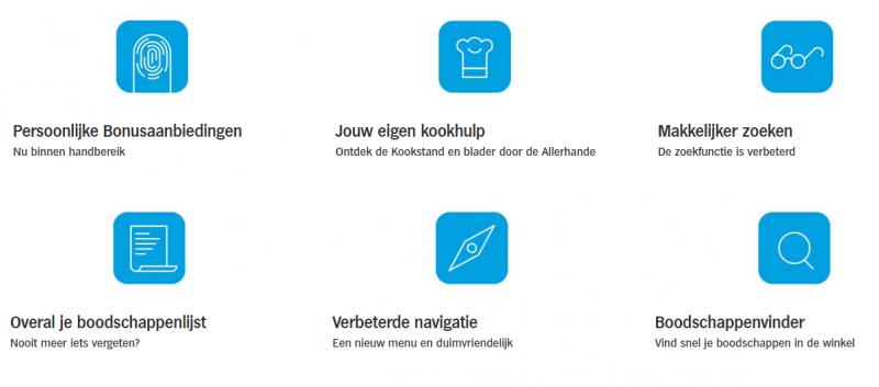 Appie App van albert heijn online boodschappen bestellen