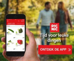 Picnic boodschappen bestellen in de app