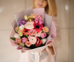 Bloemen kan je ook online bestellen bij Deen en thuis laten bezorgen