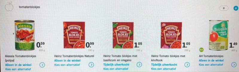 Eigen supermarkt of boodschappen afbeelding toegevoegd